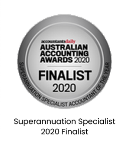 Superannuation Specialist - 2020 Finalist