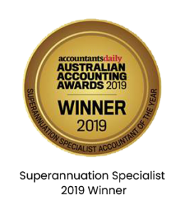 Superannuation Specialist - 2019 Winner